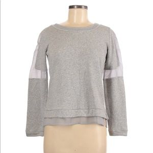 ANDREA JOVINE Weekend mesh detail top size small